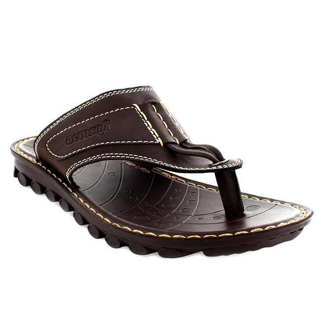 6c08c651bc2ff6 Aerosoft: Transformer P2501 - Mens Toe Post Sandals - Aerosoftfootwear